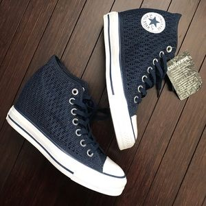 Converse All Star Lux Wedge Sneakers Shoes